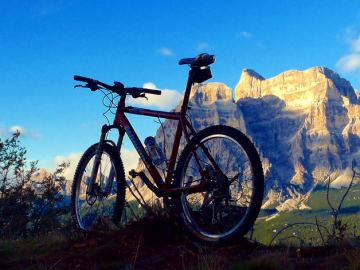cicloturismo in zona Belluno