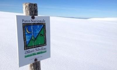 monti sibillini neve