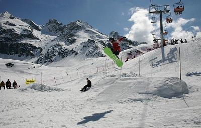 snowboard valle d'aosta