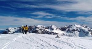 Capodanno in montagna sulle Dolomiti
