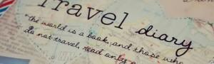 Diario di viaggio di vacanze e montagna