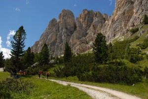 Ferragosto in montagna sulle Dolomiti