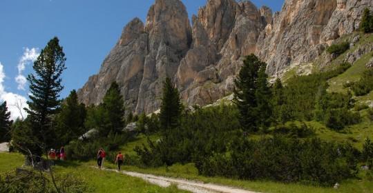 Il caldo Ferragosto sulle Dolomiti